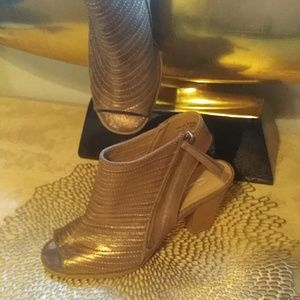 Peep Toe Booties CL by Laundry